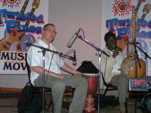David Finkle and Mansa Sissoko