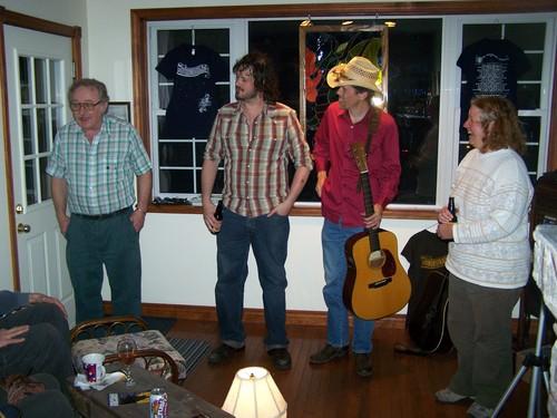 John Phillips, Corin Raymond, Jonathan Byrd, Carol Phillips